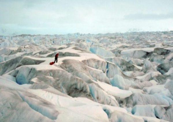 The Novaya Zemlya Glacier, Russia