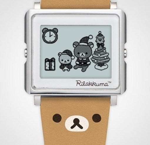Rilakkuma Smart Canvas Wristwatch