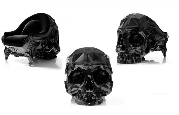Crystal Skull Armchair