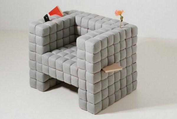 Creative Joined Cubes Armchair