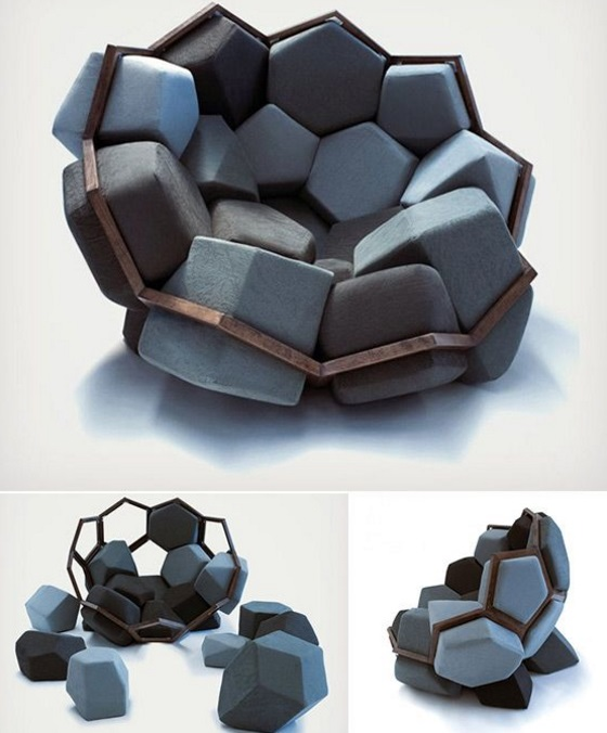 Removable Shapes Armchair