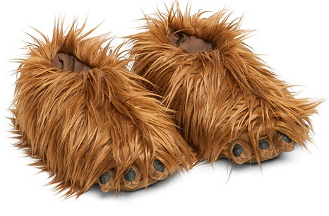Star Wars: Chewbacca Slippers With Sound