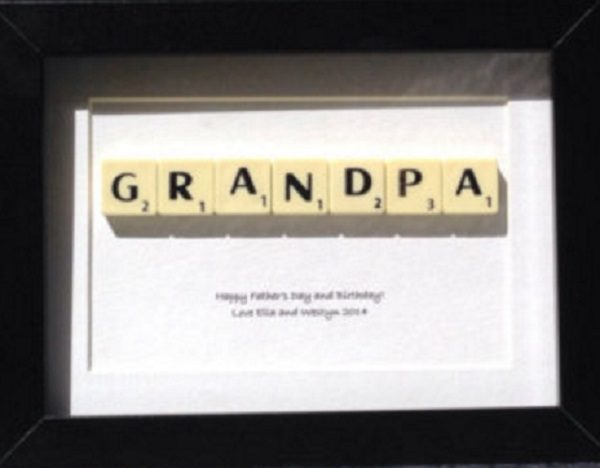 Personalised Grandpa Gift