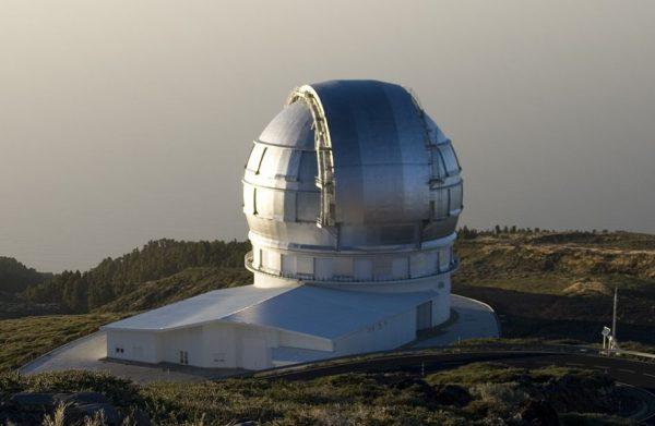 Gran Telescopio Canarias, Spain
