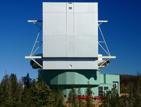 Large Binocular Telescope, USA