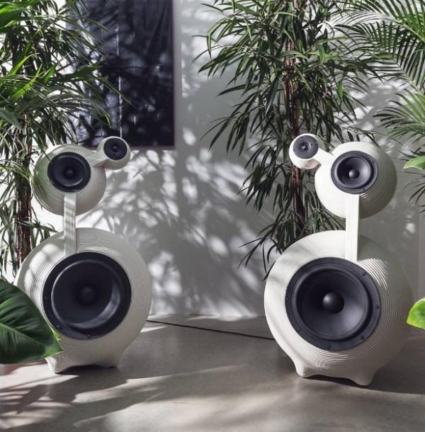 Snowmen Speaker Set by Dirk Vander Kooij