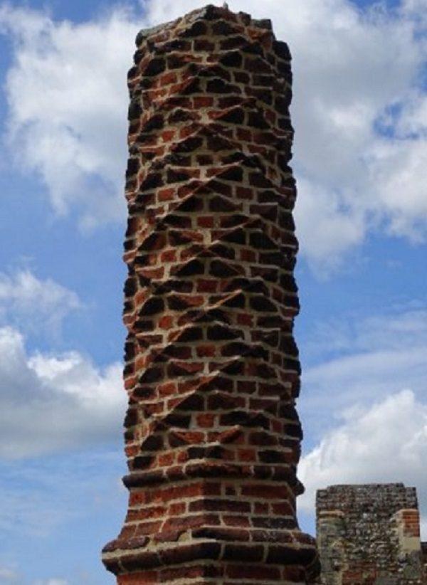 Framlingham Castle Chimney