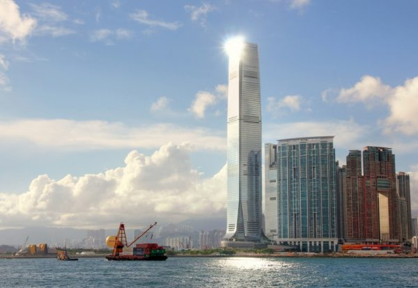 International Commerce Centre, China