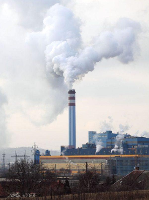 Chimney of Kashira Power Plant, Kashira, Russia