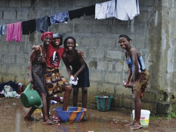 Monrovia, Liberia in the Rain