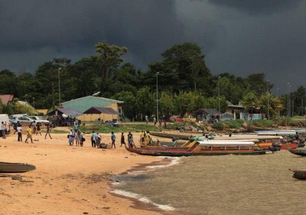 Cayenne, French Guiana in the Rain