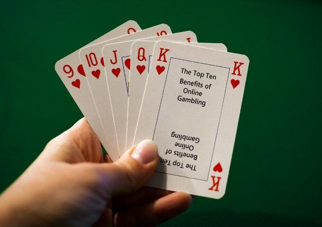 The Top Ten Benefits Of Online Gambling