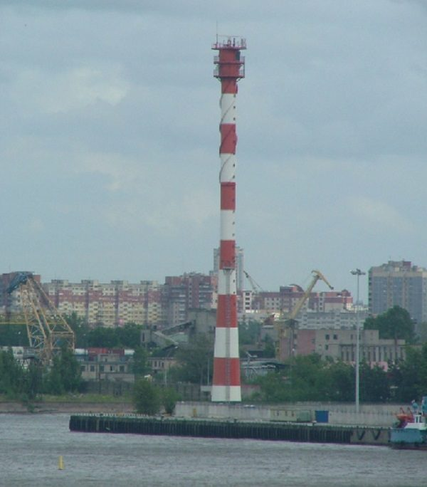 Lesnoy Mole Rear Range Light, Russia
