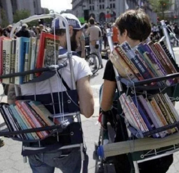 The Walking Library