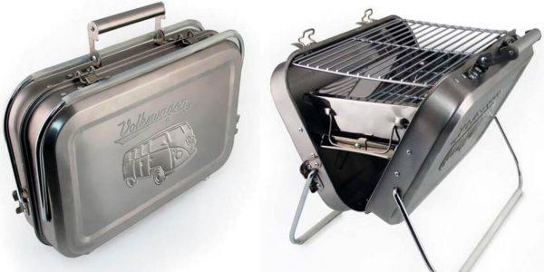 VW Campervan Stamped BBQ Grill