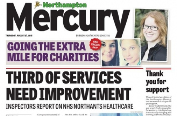 The Northampton Mercury Newspaper