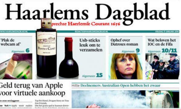 Haarlems Dagblad Newspaper