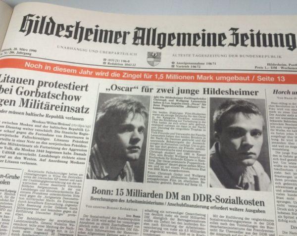 Hildesheimer Allgemeine Zeitung Newspaper