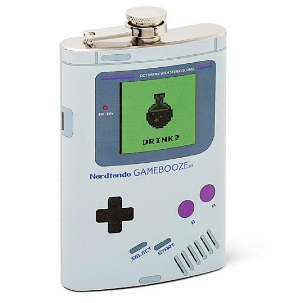 Nintendo Game Boy Hip Flask
