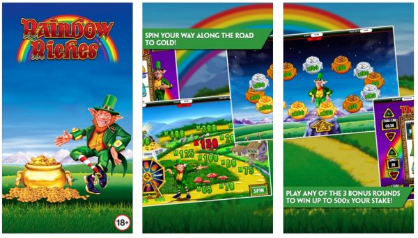 Rainbow Riches Slots by Paddy Power