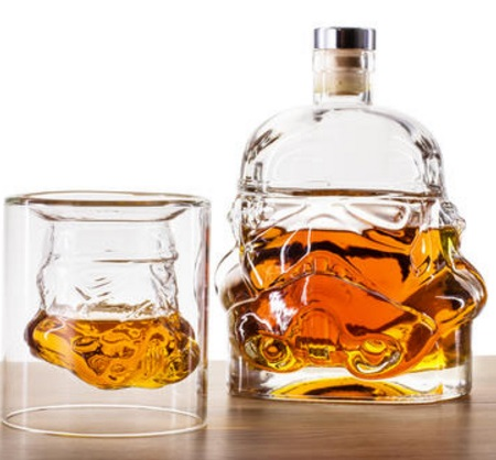 Star Wars Stormtrooper Shaped Whisky Decanter