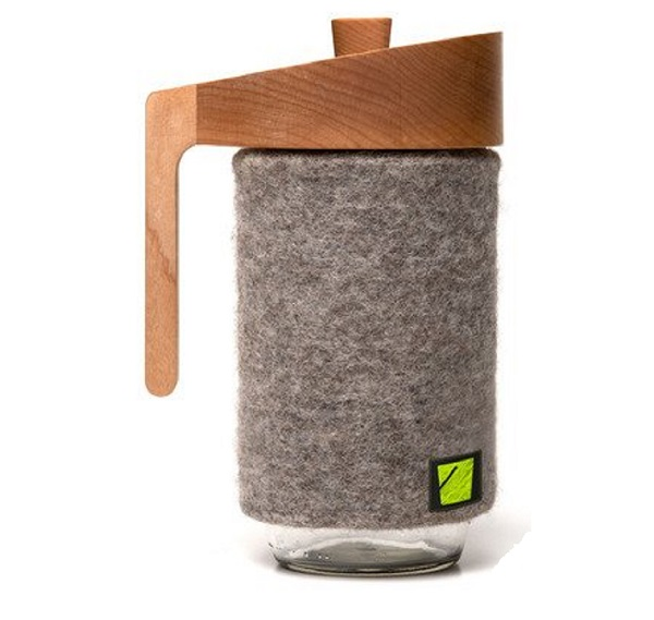Bucket's Portland French Press Coffee Maker