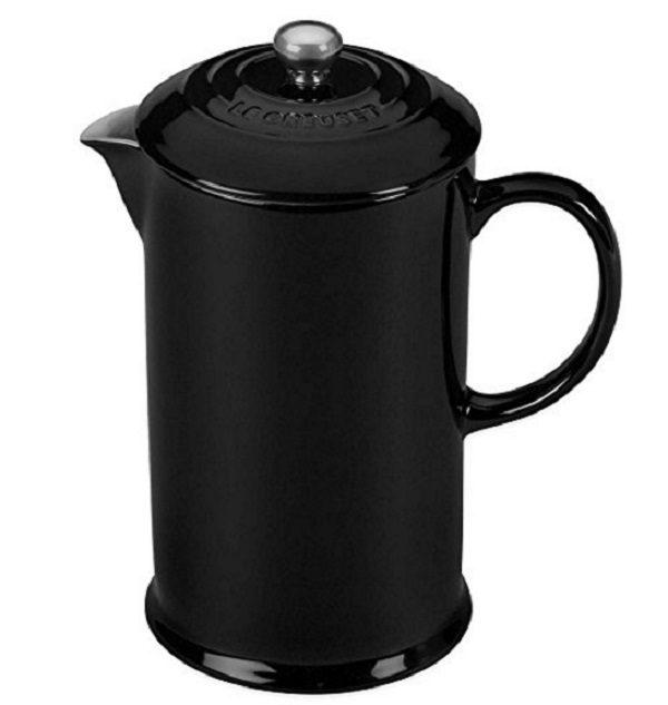 Le Creuset Stoneware French Press Coffee Maker
