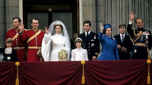Wedding of Princess Anne and Mark Phillips