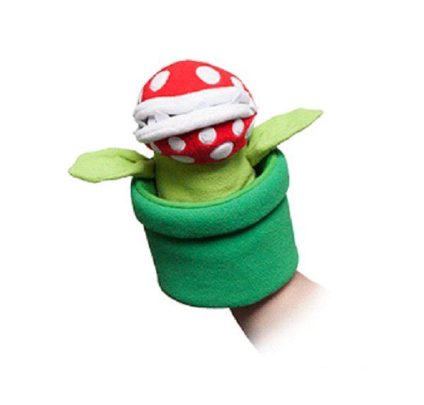 Super Mario Piranha Plant Hand Puppet