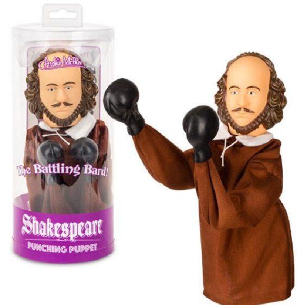Shakespeare Punching Hand Puppet