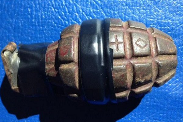Grenades Found in an Attic
