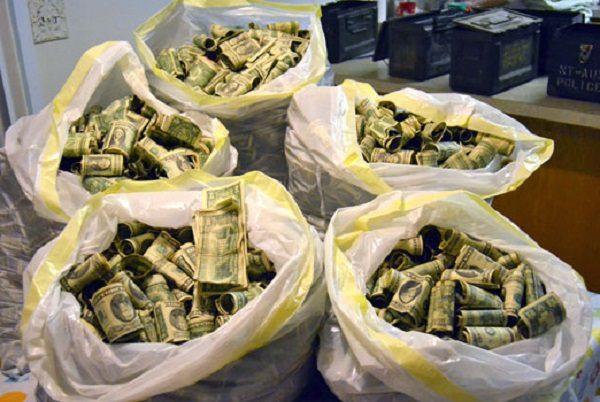 Cash Found in an Attic