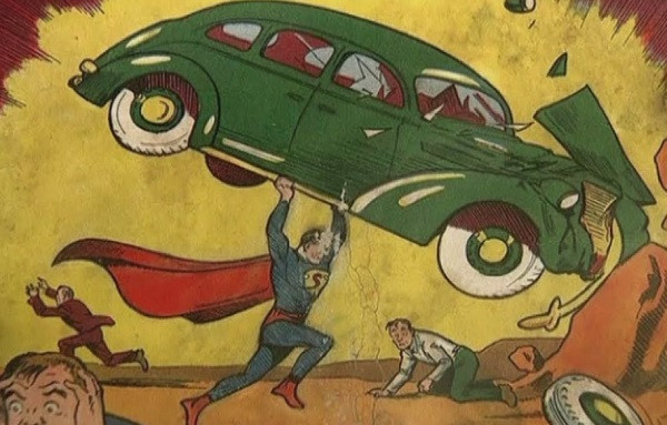 Superman Comic Found in an Attic