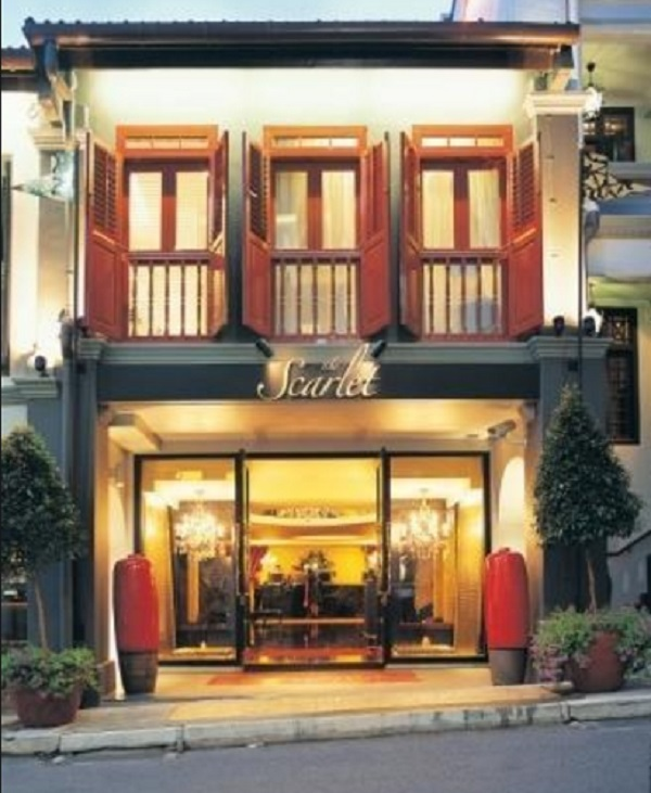 Scarlet Hotel, Singapore