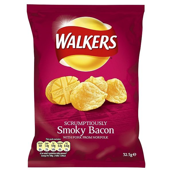 Bacon Flavoured Crisps