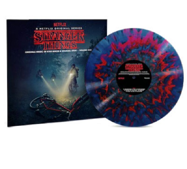 Stranger Things Deluxe Edition Vinyl Records