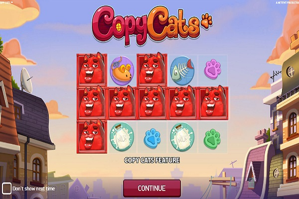 Copy Cats Slot Game