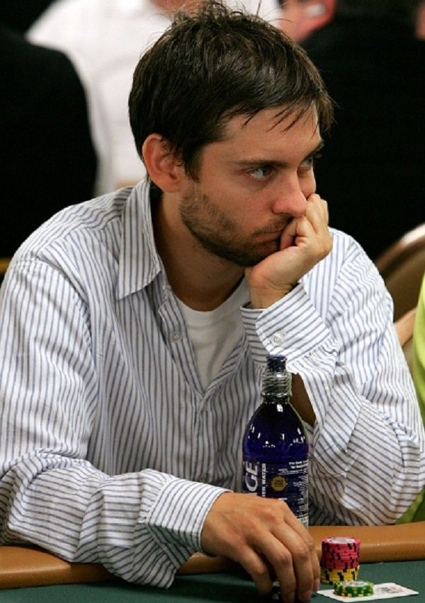 Tobey Maguire - Professional Poker Player
