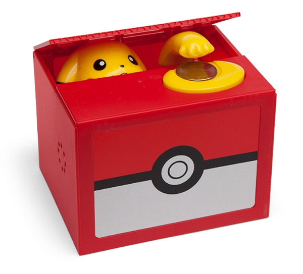 Pokémon Pikachu Coin Bank