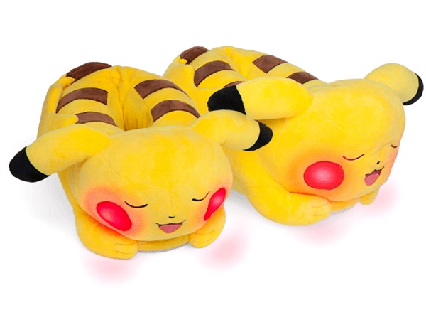 Light-up Pikachu Slippers