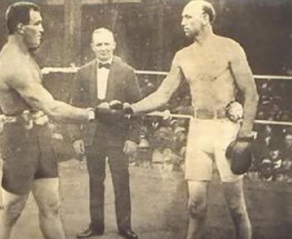 James J. Jeffries VS Jack Finnegan