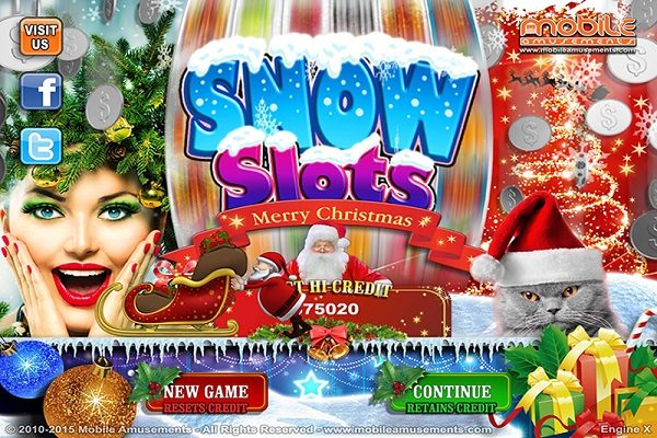 Snow Slots Merry Christmas