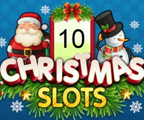 Ten Festive Slot Games for You to Enjoy Playing Over Christmas