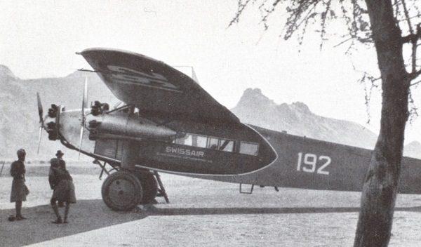 Fokker tri-motor monoplane