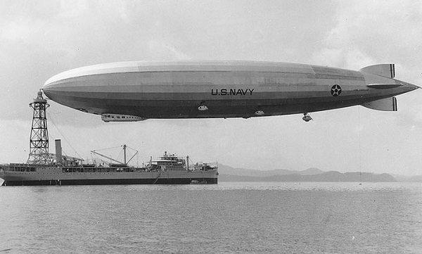 German-built'ZR3 airship