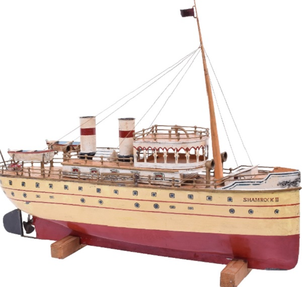 Tinplate riverboat by Marklin, German