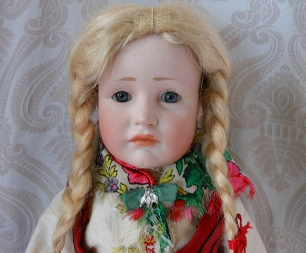 Bisque character doll by Kämmer & Reinhardt