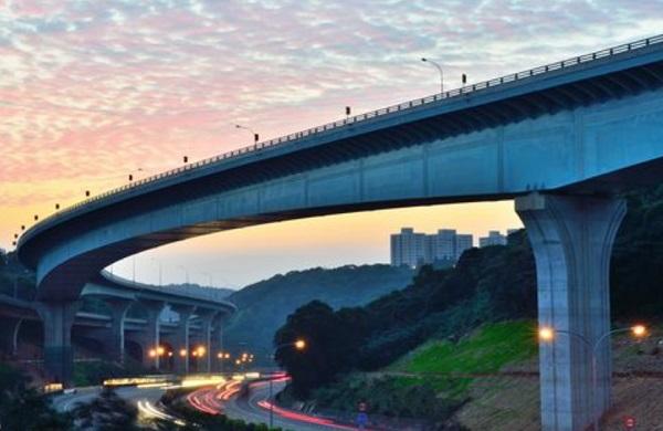 Changhua-Kaohsiung Viaduct, Taiwan