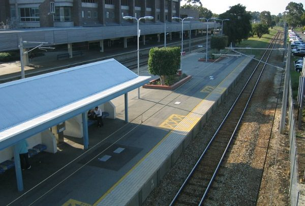 East Perth railway station