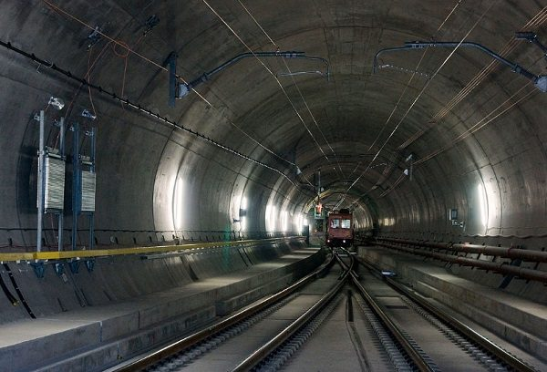 Gotthard Base Tunnel, SwitzerlandGotthard Base Tunnel, Switzerland